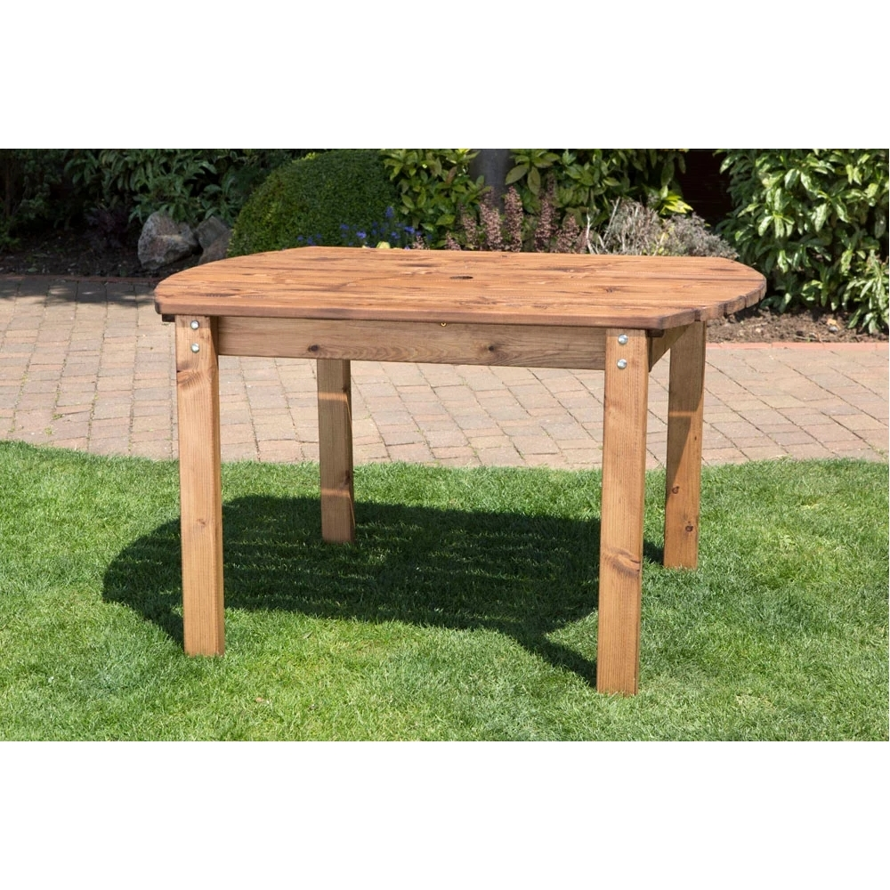 How to Paint Table with Trunks in Garden