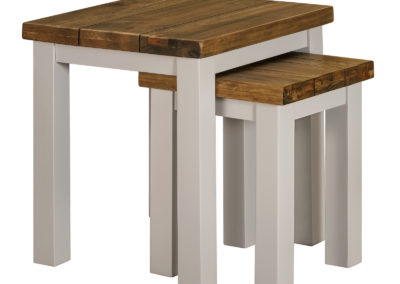 Cotswold Grey Nest of 2 Tables