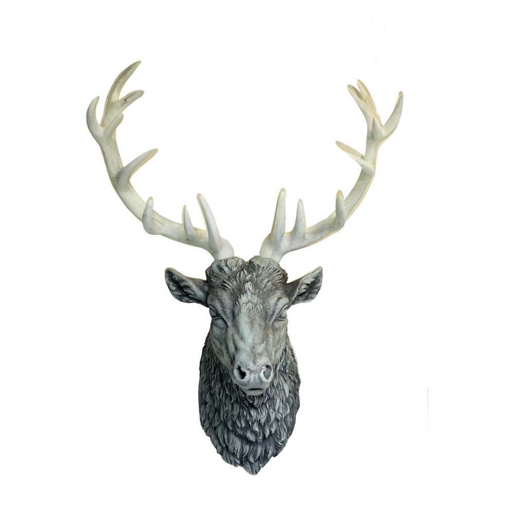 Stag Square Grey