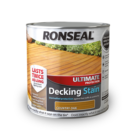 Ronseal Ultimate Decking Stain